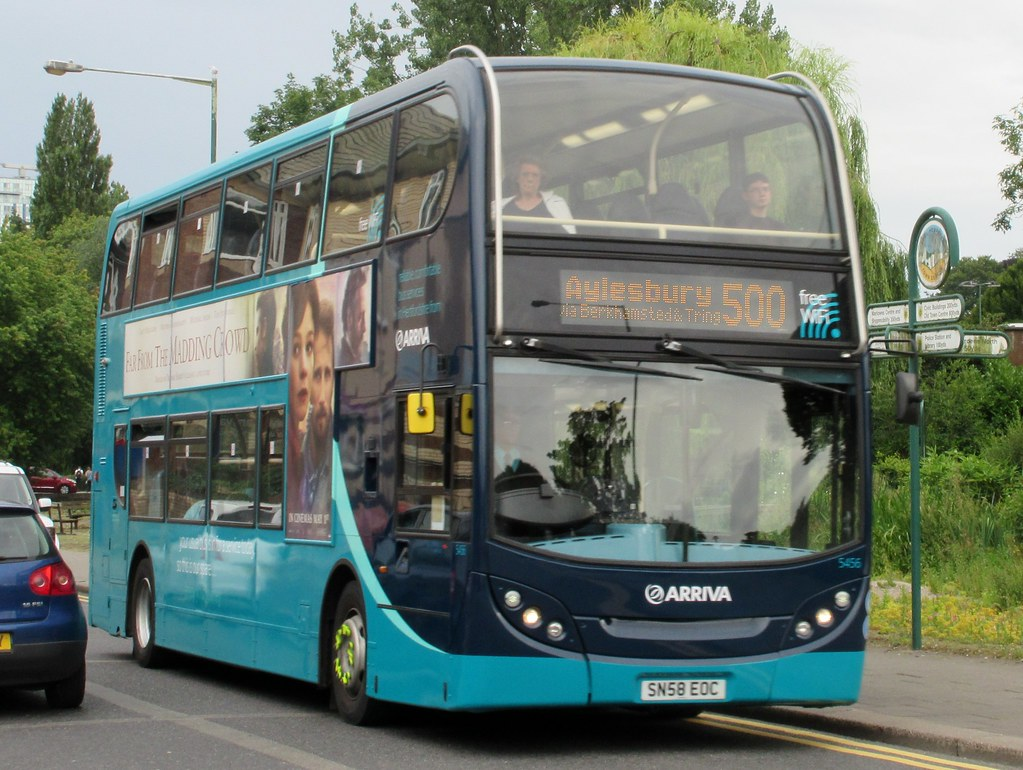Arriva The Shires 5456 Arriva The Shires Adl Enviro400