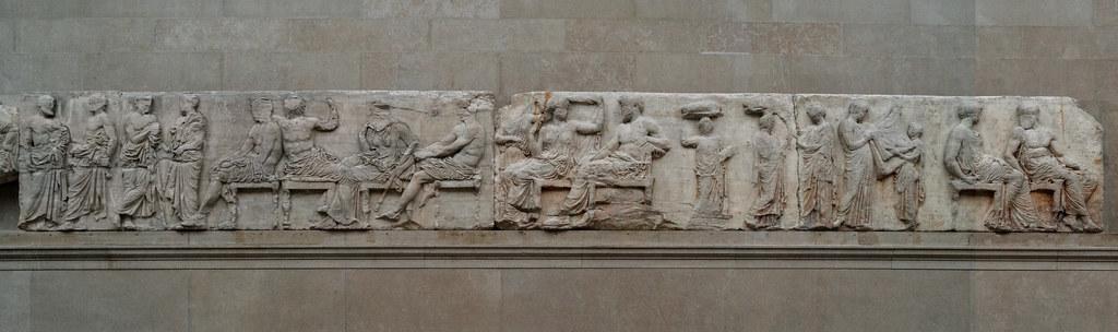 The Parthenon – X: East Frieze | Panathenaea (Panathenaia ...
