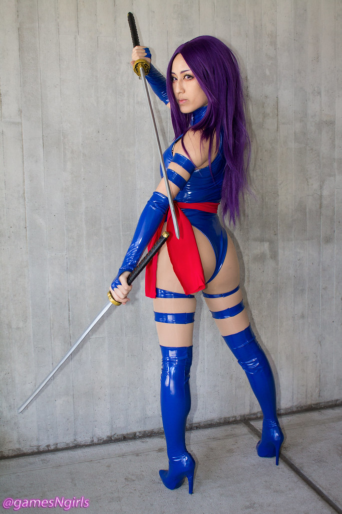 Psylocke Cosplay  Cosplay Of Psylocke From The X-Men At -6395