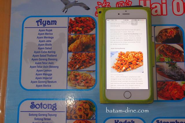 Foto ayam goreng bawang Batam Dine