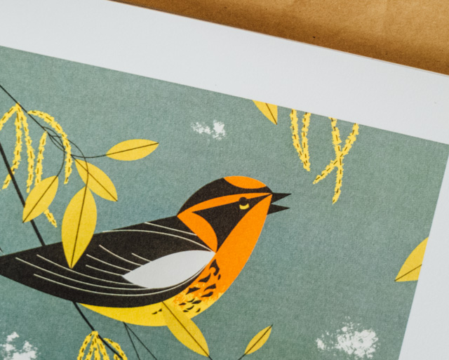 charley harper's birds & words book review