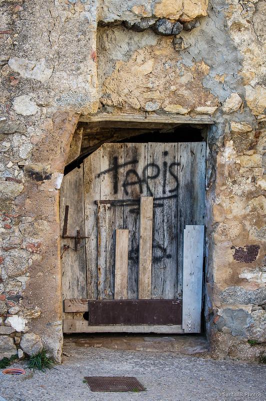 Una puerta de Tapis