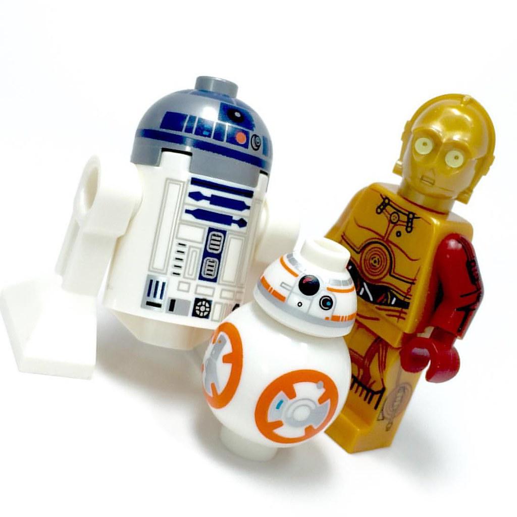R2d2 And C3po Lego #Lego #starwars #legos...