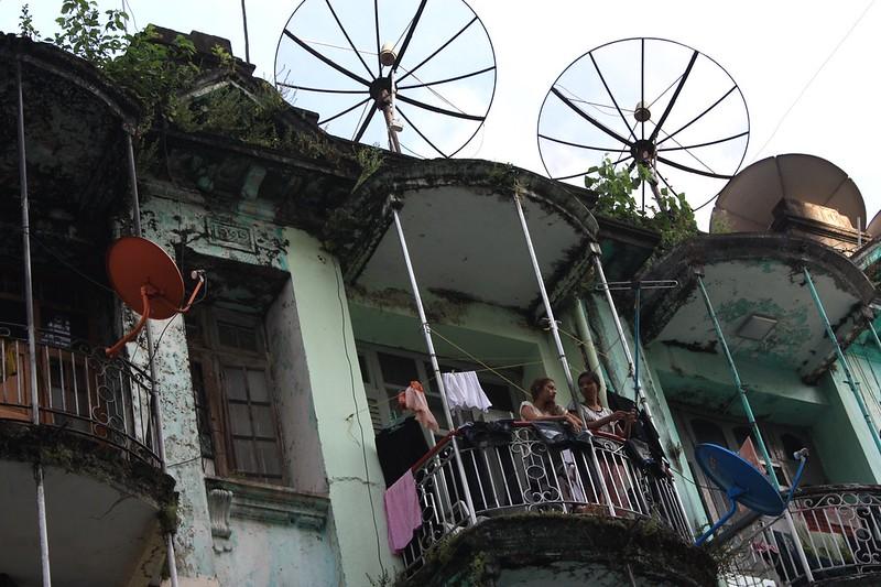 Янгон, старые кварталы