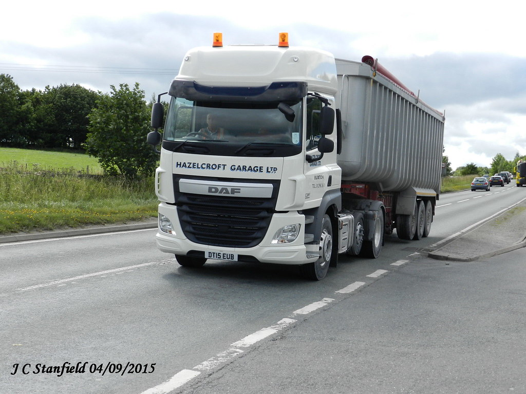 Hazelcroft garage ltd daf cf dt15eub john stanfield flickr for Garage daf massy