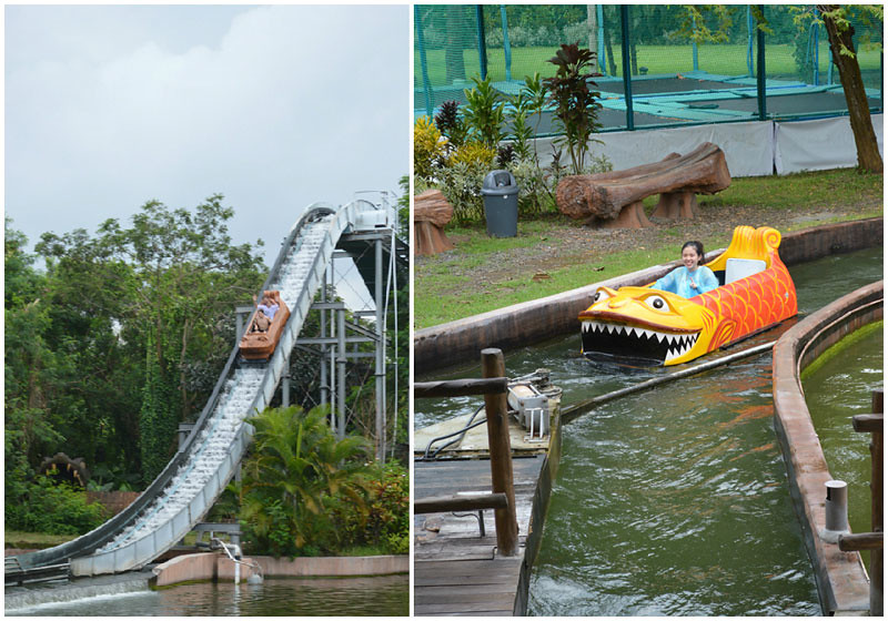 9. Flume Ride collage