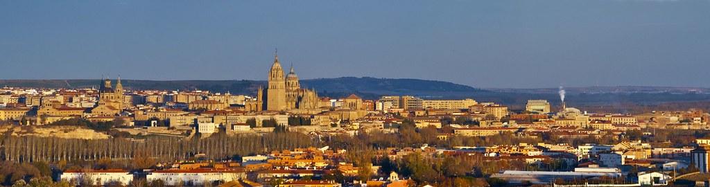 Salamanca en la distancia