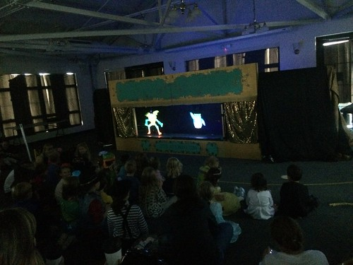 Glow-in-the-dark Puppet Theater 2016