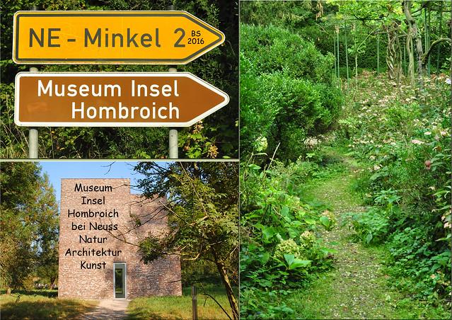 Museum Insel Hombroich ... Natur, Kunst und Pellkartoffeln ... Fotos und Collagen: Brigitte Stolle 2016