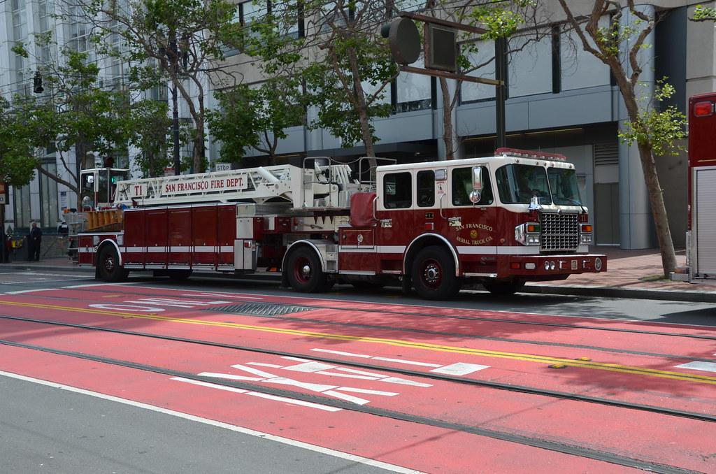 Sffd T1 San Francisco Fire Department Ladder Truck 1