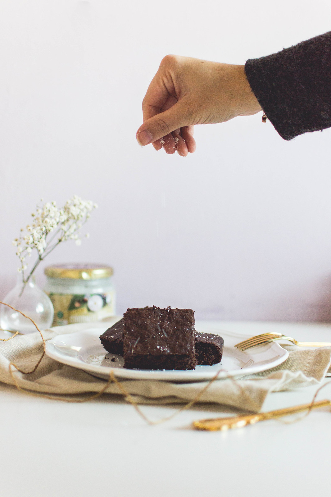 Healthy Coconut Brownies Recipe
