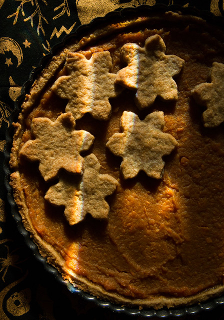 Mulled Cider Sweet Potato Tart