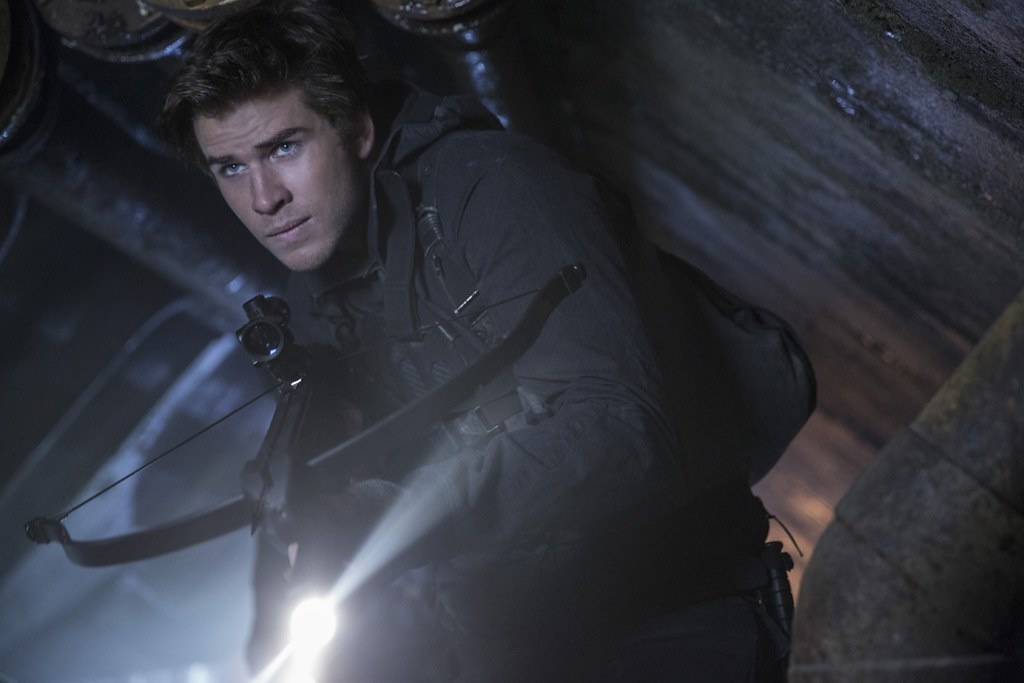 I don't really care how handsome Liam Hemsworth is. I'm on Peeta's side. Credit: Murray Close