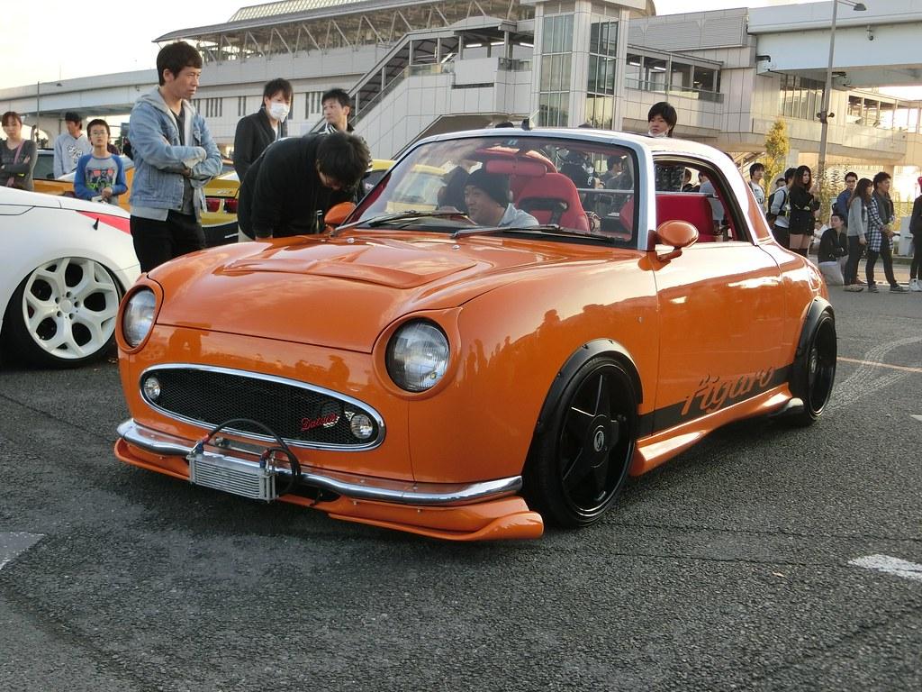 Nissan Figaro Stance Nation Japan Tokyo 2015 Yoshitaka