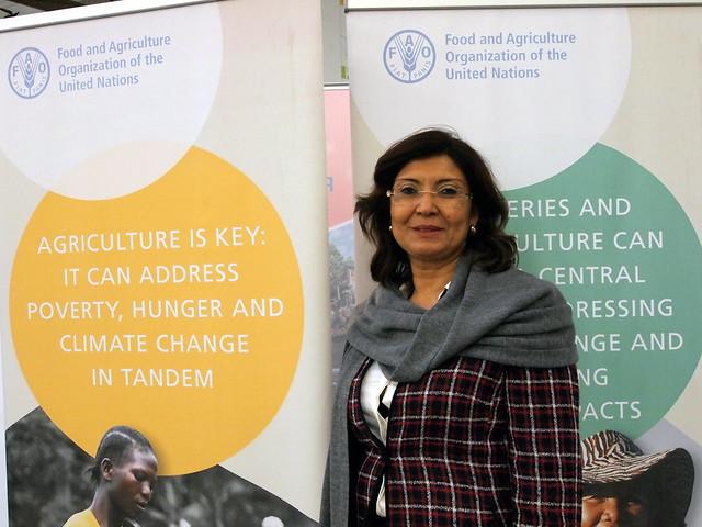 FAO副總幹事莎梅多女士。攝影:賴慧玲。
