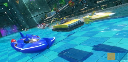 Sonic & All-Stars Racing Transformed home