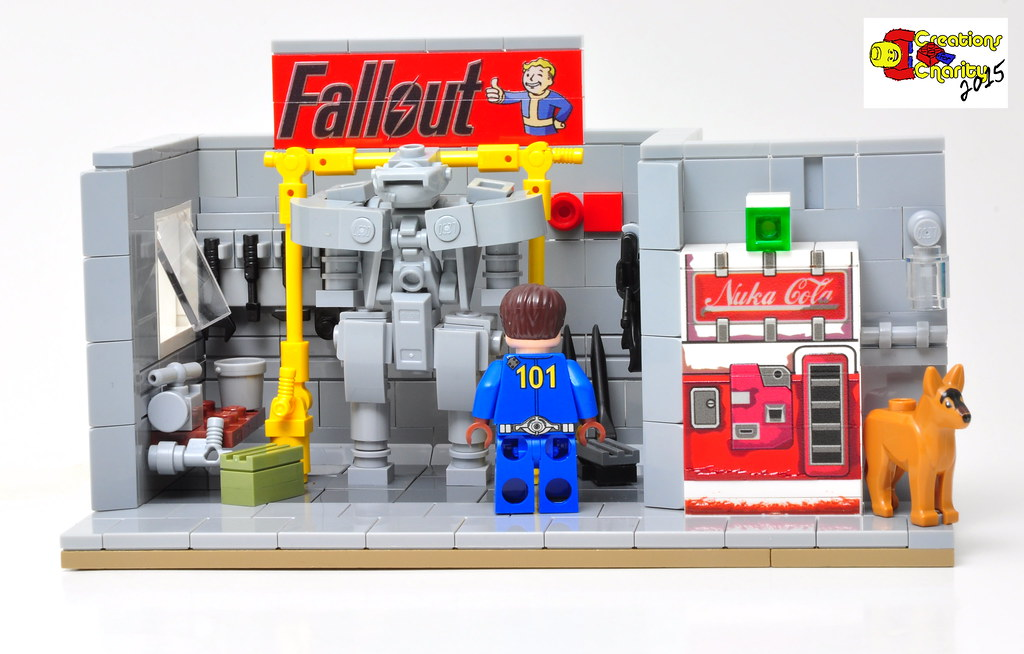 Fallout Garage Lego Lego Never Changes Www