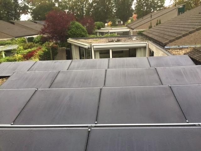 Solar Frontier Zonnepanelen platdak