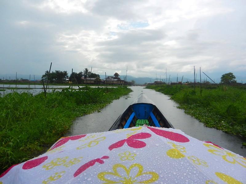 Помидоры растут. Озеро Инле