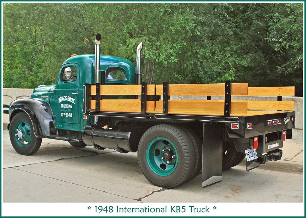 1948 International Kb5 Truck The September 9 2010 Depot