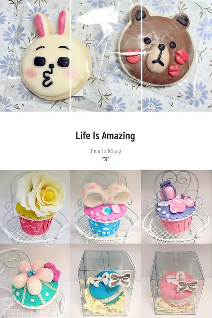 002-1.香皂黏土~杯子蛋糕&熊大