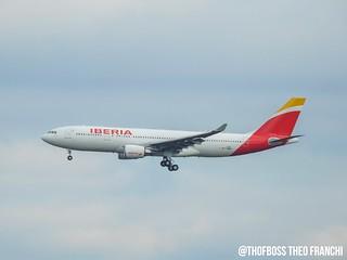 A330 Iberia Bogota EC-MNK msn1755 F-WWKF