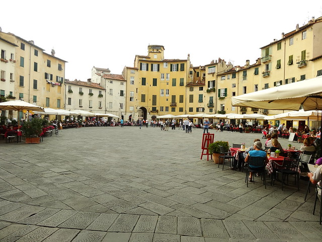 The Amphitheatre of Lucca