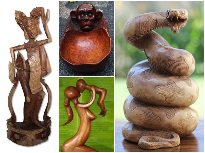 Visit The Showroom And Art Gallery In Singakerta And You Will Find A Great  Selection Of Sculpted Wood Waiting. From Wooden Hand Carved Masks And  Abstract ...