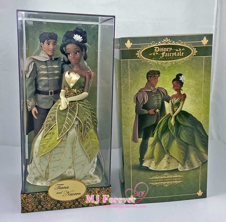 Princess Tiana Cooking: DFDC Tiana And Prince Naveen Doll Set