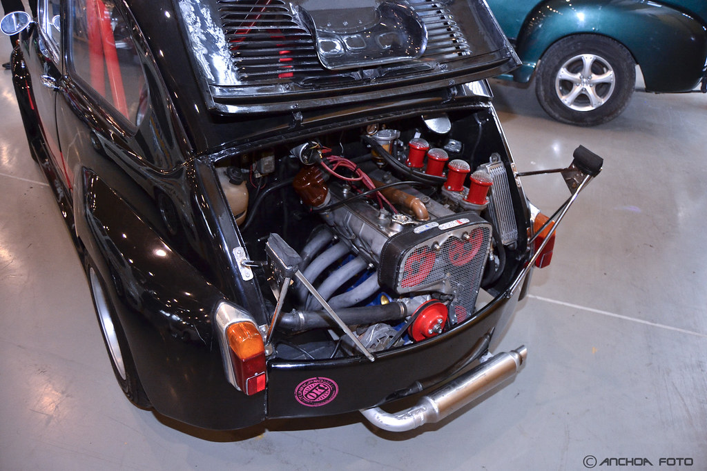 Seat 600 E 1973 Kit Abarth Motor Fiat 125 Carlos Sanz