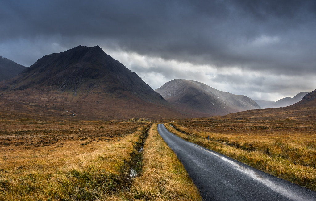 Back Of Head >> The Road through Glen Etive   After checking out the river w…   Flickr