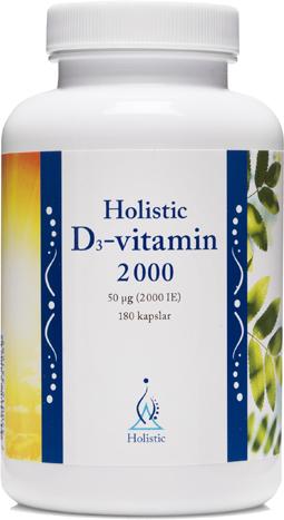 D-vitamin 180 kapslar