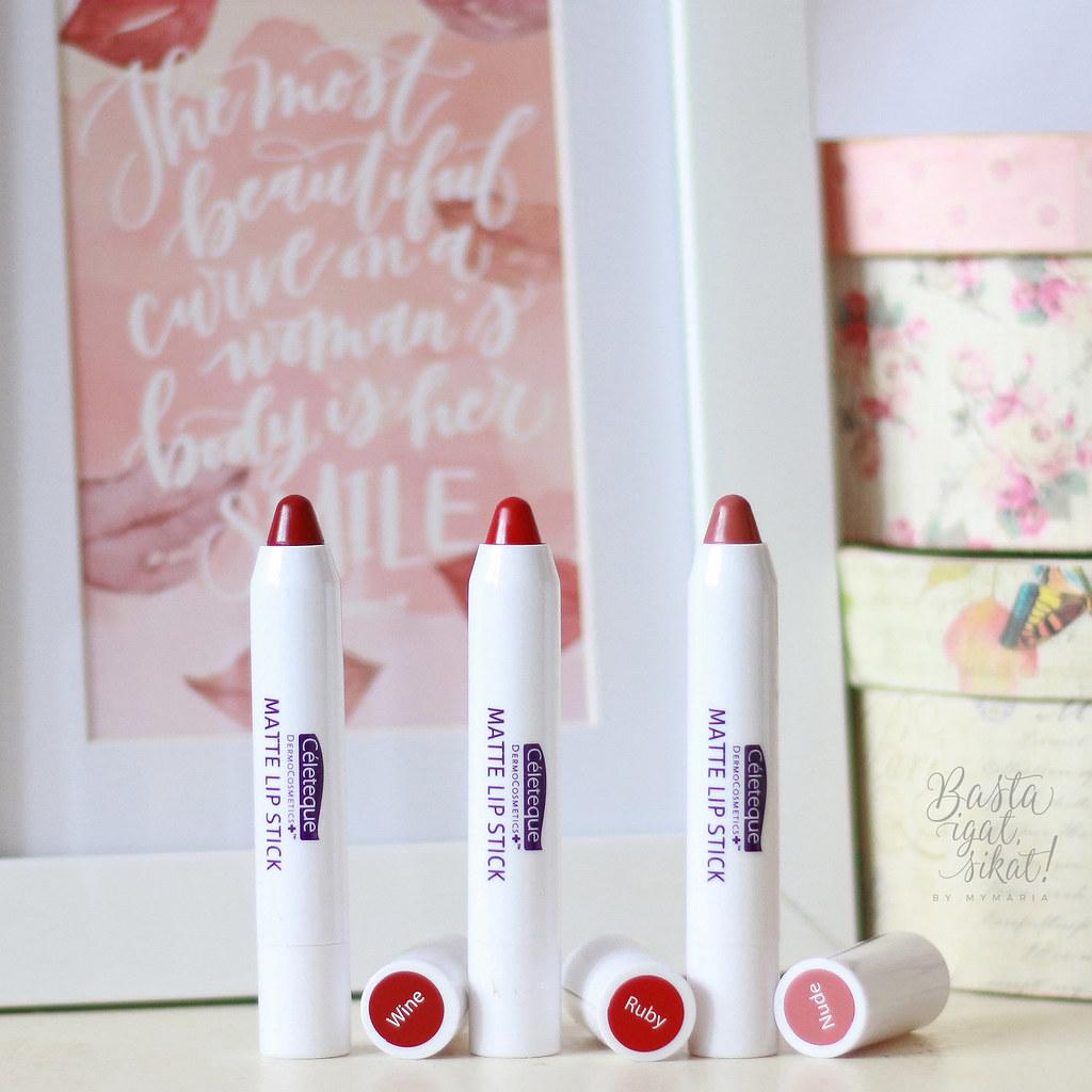 Celeteque Matte Lip Stick Review