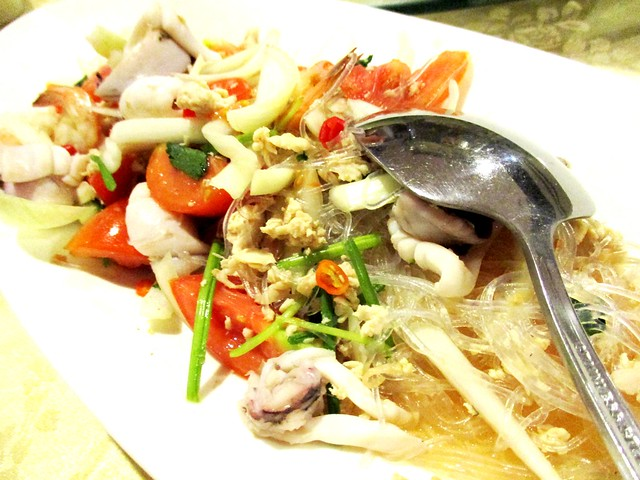 Flavours Thai Kitchen seafood salad