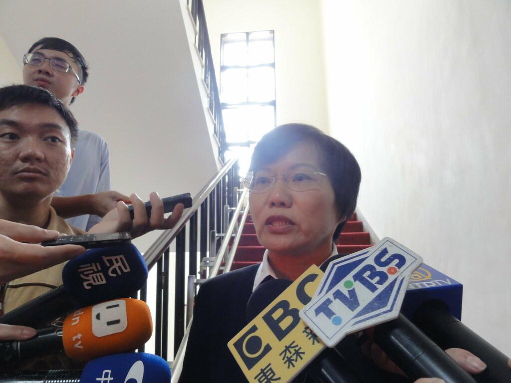 民進黨立院黨團書記長劉世芳表示,今天黨團協商達成兩點共識。(攝影:張智琦)