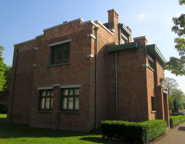 Art Deco Building Zonnebeeke