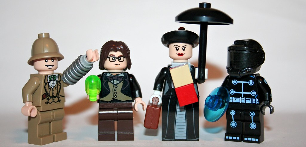 Toys For Mary Poppins : Lego disney figures from l r inspector gadget flubber