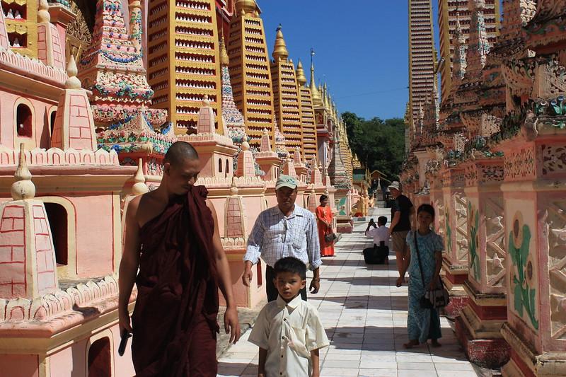 Бирма, буддийские монахи