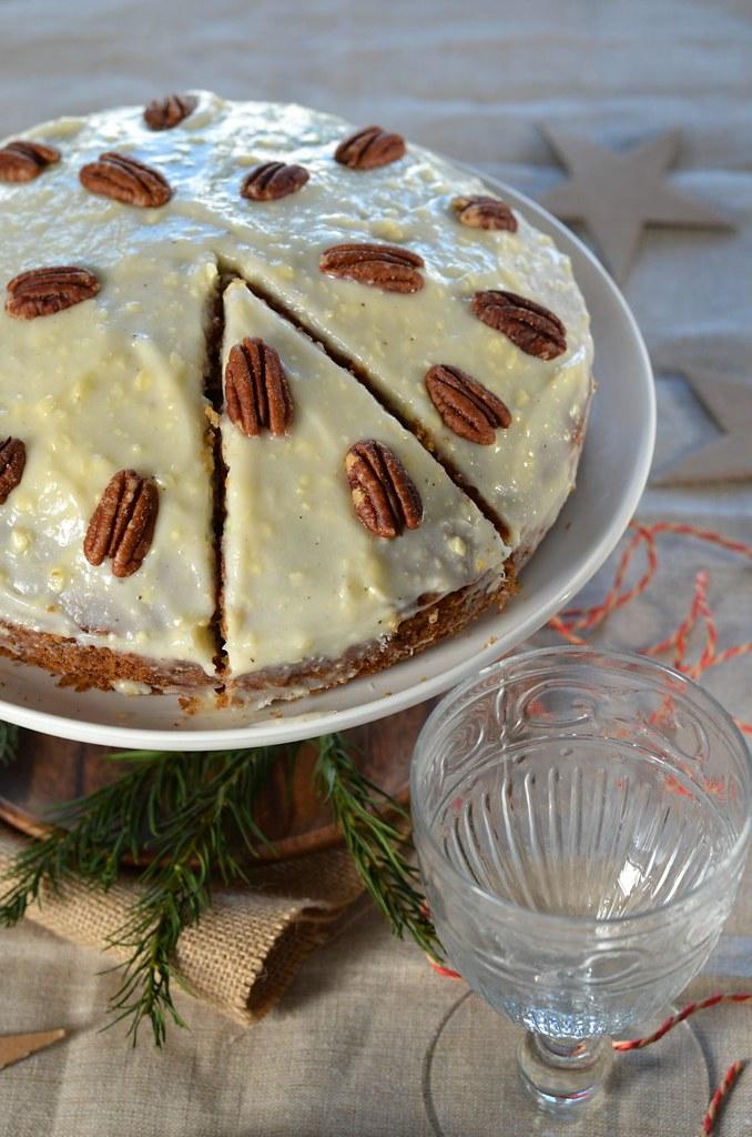 Carrot cake – Gateau aux carottes