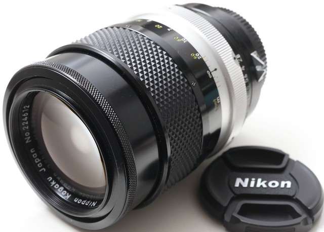 二手鏡頭 香港 . . . Nikon Nikkor Q 135mm f2.8 (non-AI ) 大光圈大鏡徑人像鏡     銳利色潤 鏡片95新   銀咀105的另一選擇