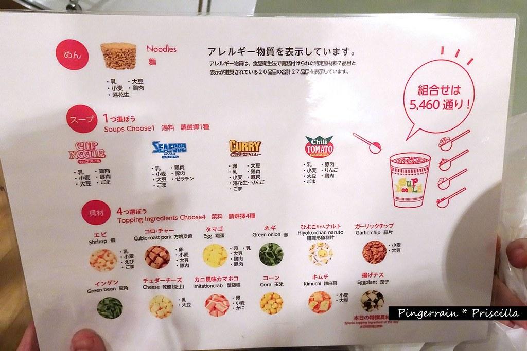 Step 4: Choose your ingredients!