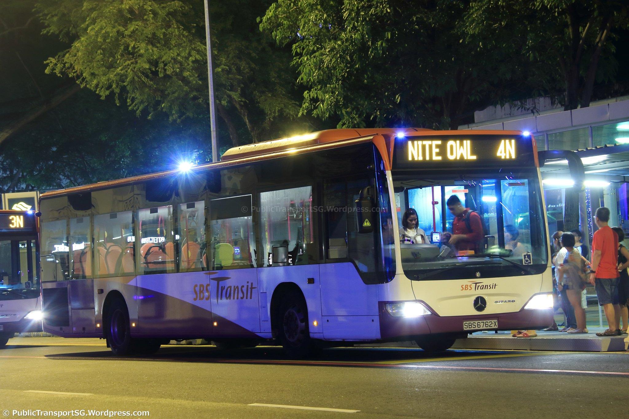 N Owl Next Bus SBS Transit Nite Owl 4...