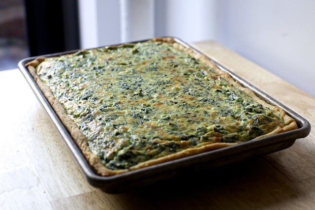 spinach sheet pan quiche – smitten kitchen