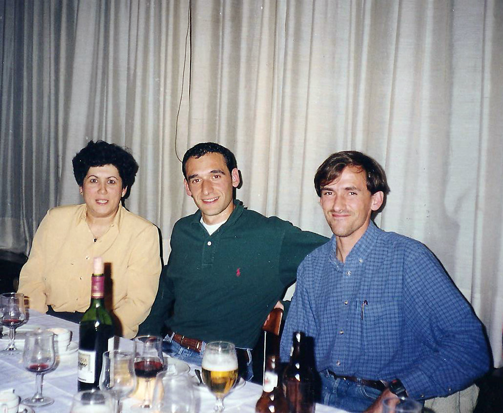 Cena de gala de la Milla de Infiesto, 1.998. Foto 069.