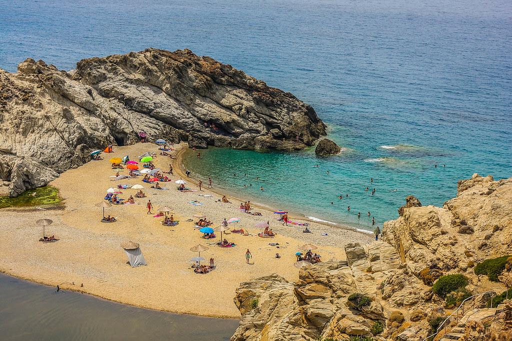 Nas Beach, Ikaria island, Greece  Located 6km west of ...