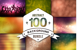 10 Abstract Watercolor Backgrounds