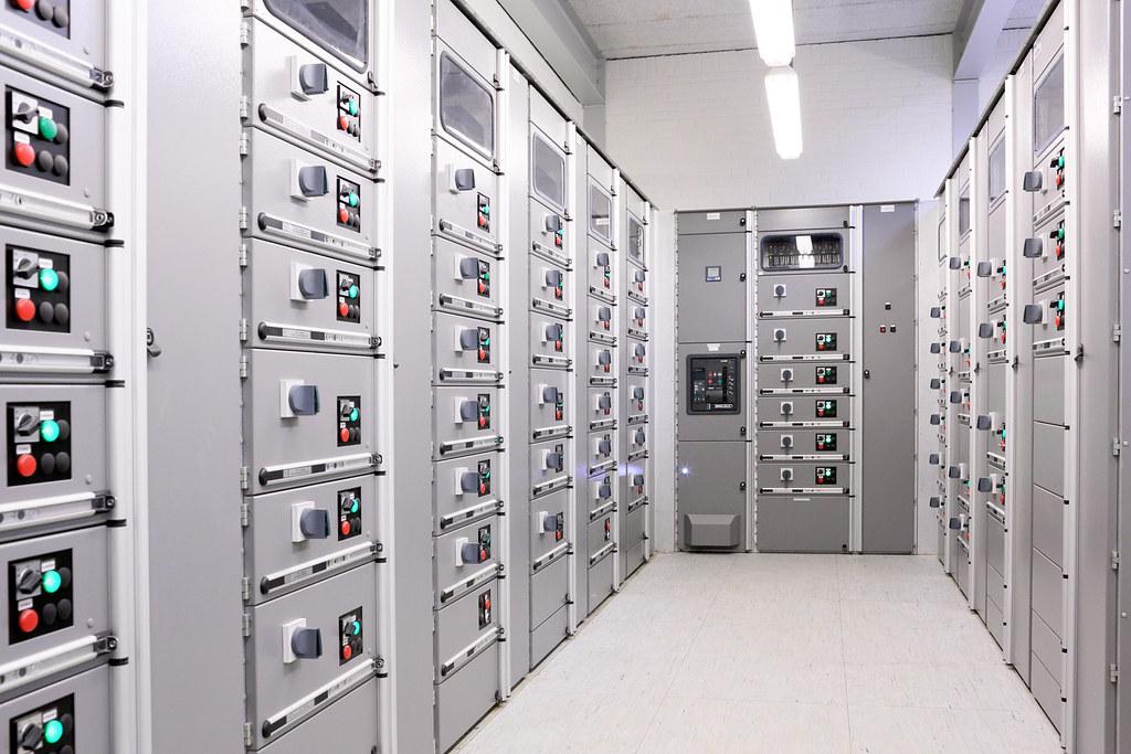ABB installatie bij Hoogheemraadschap van Schieland en de Krimpenerwaard, te Zwolle