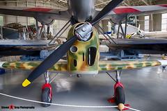 MM52757 3 - 766 - Italian Air Force - Nardi-Piaggio FN 305 - Italian Air Force Museum Vigna di Valle, Italy - 160614 - Steven Gray - IMG_0154_HDR