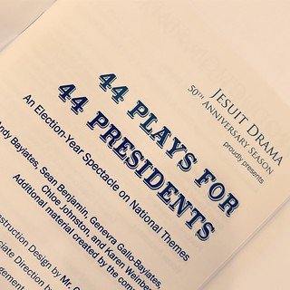 Jesuit Drama - 44 Plays for 44 Presidents