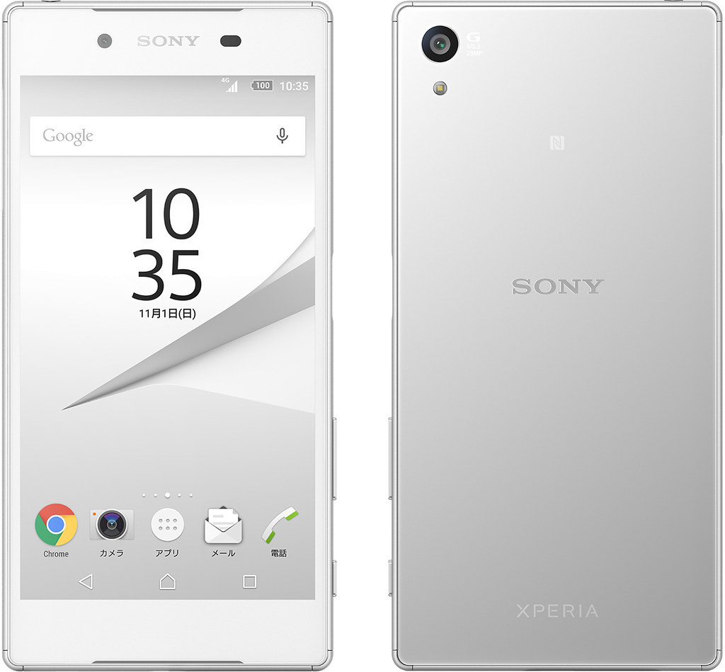 Xperia Z5 full scale product image